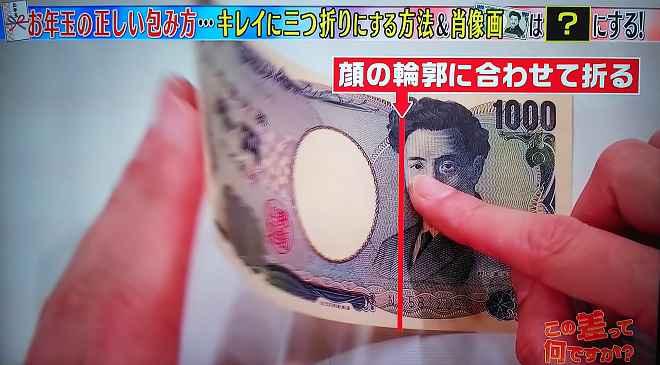 円 札 方 1000 折り ターバン野口の折り方解説